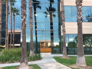 Anaheim entranceway to meeting room rental and work spaces