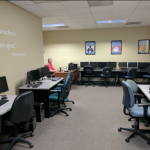 Meeting spaces, training areas, and more