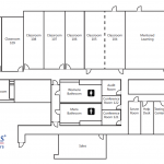 Floor plan Anaheim meeting space layout