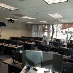 Training and meeting room with work space