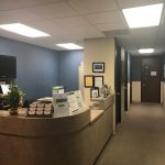 reception and entryway