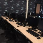 Room 7 stations for trainings or meeting events at lower price than hotels
