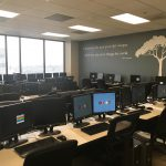Burbank training area and meeting space
