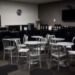 Break room at SF location