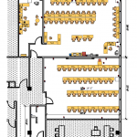 Gardena meeting space layout